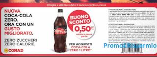 Logo Buono sconto da Ritagliare e risparmi su Coca-Cola Zero
