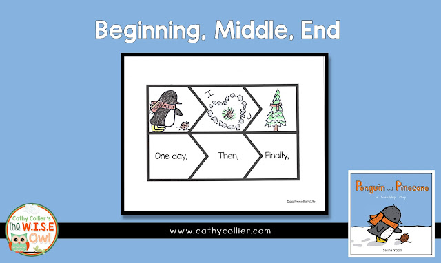 Penguin and Pinecone is a great story of friendship. Using sequencing activities with this story gets students engaged with these new friends.