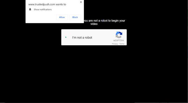 Trustedpush.com pop-ups