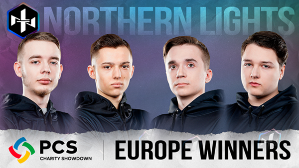 Northern Lights wins PCS Europe Charity Showdown Grand Finals