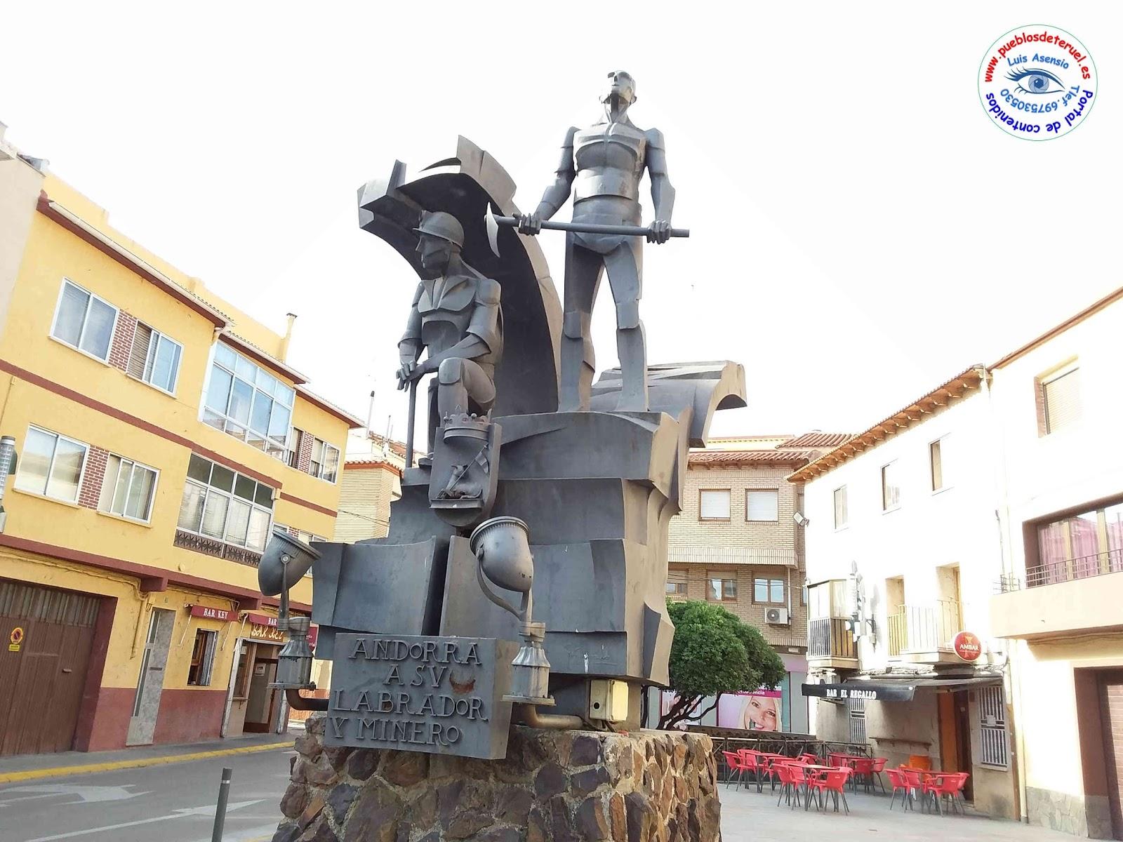 Turismo en andorra punto 3 plaza del regallo monumento al labrador y al minero - Oficina turismo andorra ...