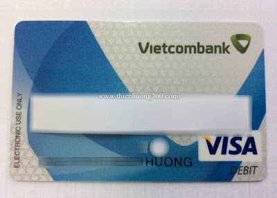 Thẻ Visa Debit Vietcombank