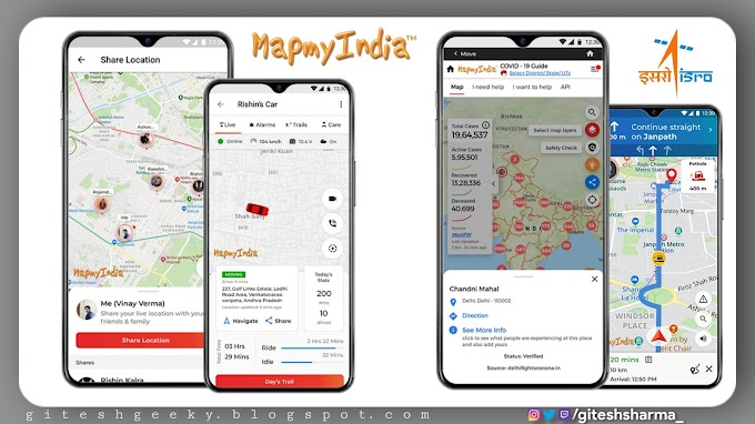 """Now It's time to replace Google Maps with ISRO's own maps IRNSS """"NavIC"""""""