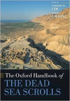 The Oxford Handbook Of The Dead Sea Scrolls Pdf Book By Timothy H. Lim, John J. Collins