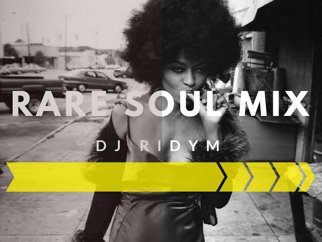Rare Grooves DJ Mix Cover Bild mit Diana Ross, welche sich den Finger ableckt als S/W Portrait