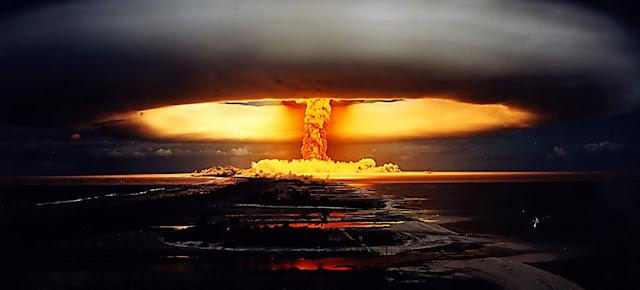 Imagen del ensayo nuclear que se realizó en la Polinesia Francesa en 1971. Foto: CTBTO