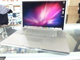"""MacBook Pro 2008 Core2 Duo 2.4GHz 17"""" HDD 160GB RAM 4GB Kode MacBook 05"""