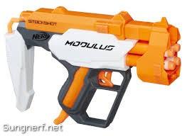 Súng Nerf Modulus StockShot, vừa là báng súng