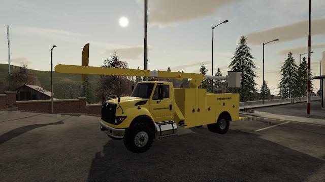 FS19 F550 Utility Truck