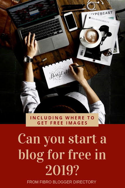 Can you start a blog for free in 2019