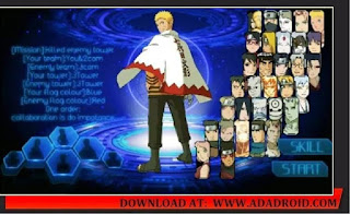 Download Naruto Senki Forget Time V2 Apk