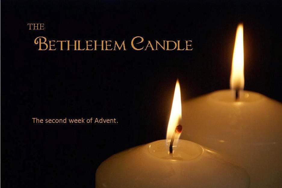 the bethlehem candle the second week of advent. Black Bedroom Furniture Sets. Home Design Ideas