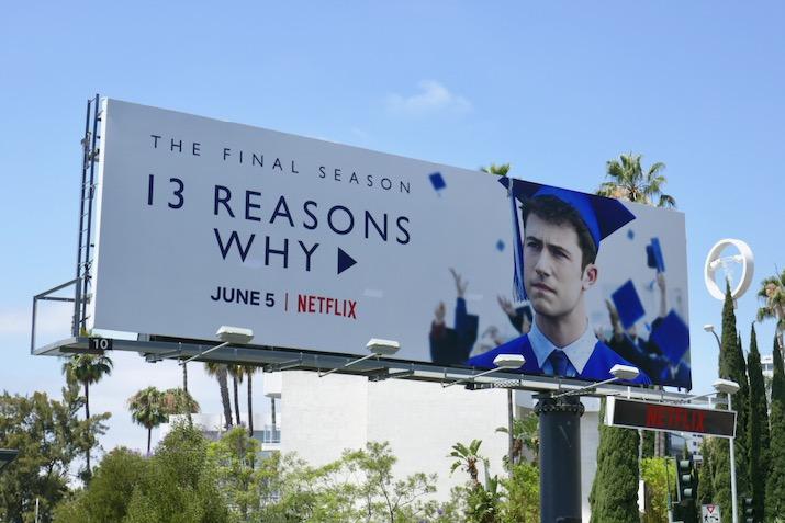 13 Reasons Why season 4 billboard