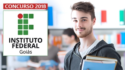 Concurso Instituto Federal de Goiás 2018