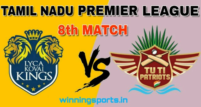 Dream11 team for LYC vs TUT 8th Match | Fantasy cricket tips | Playing 11 | TNPL Dream11 Team