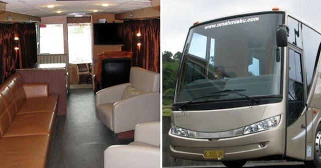 Nusantara - Omah Mlaku bus mewah