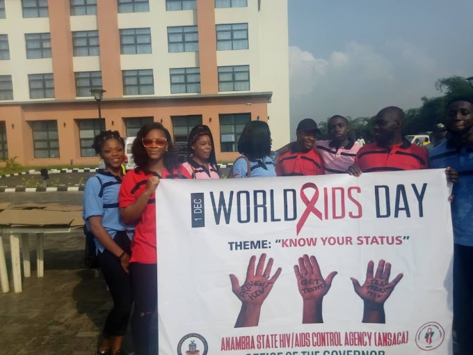 It's a world aids day, know your status and play safe