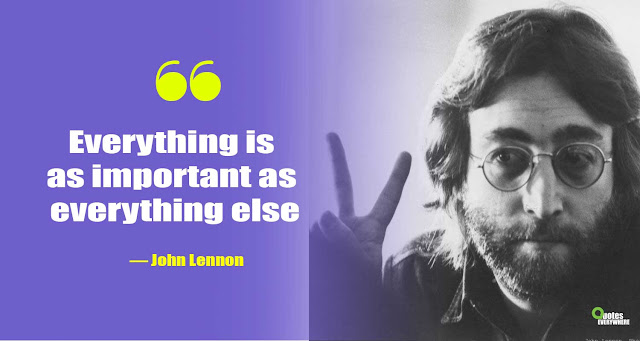 John Lennon Quotes about Music