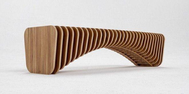 Prosta nowoczesna ławka bez oparcia Starmax producent