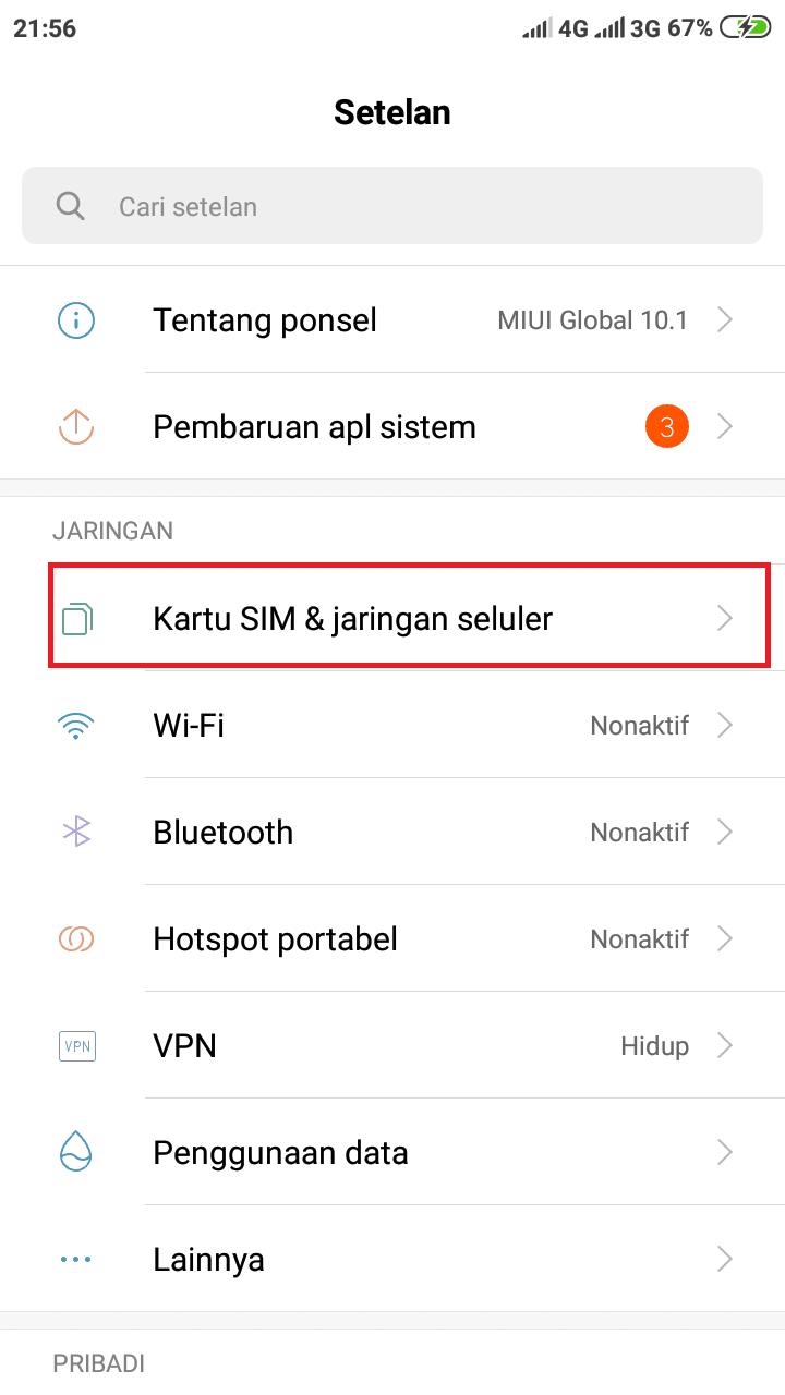 Cara Setting APN Indosat, Telkomsel, Tri, All Operator ...