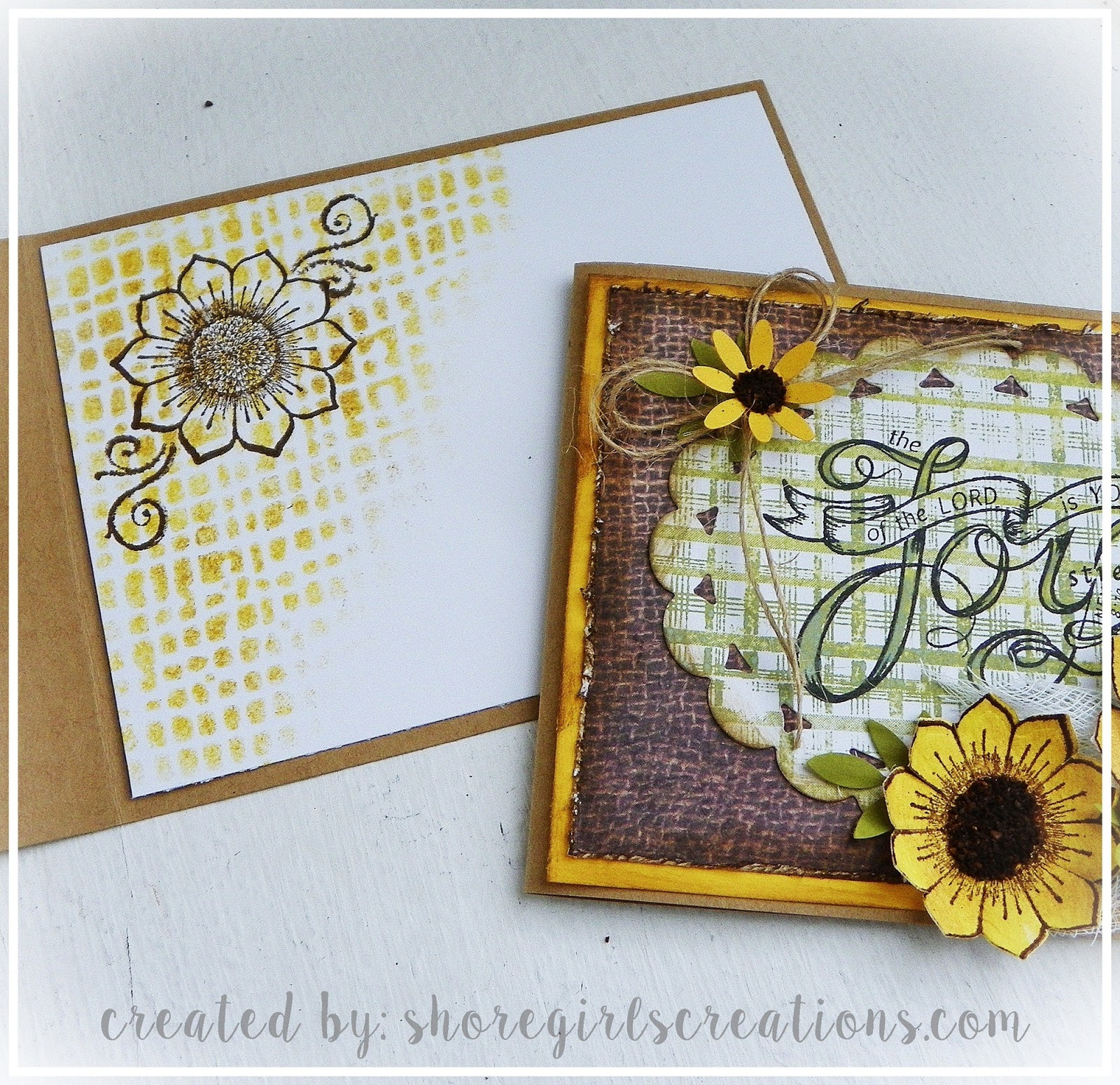 For A Step By Step Tutorial On How I Created The Sunflowers And Put This  Card Together   Visit The Cropstop Blog Today!