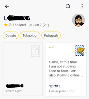 Pesan dari Thailand