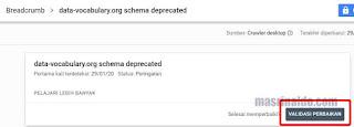 Memperbaiki Notifikasi Breadcrumb Error di Google Search Console Blogger 3