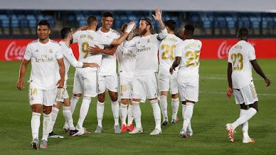 ترتيب الدوري الإسباني بعد فوز ريال مدريد على غرناطة