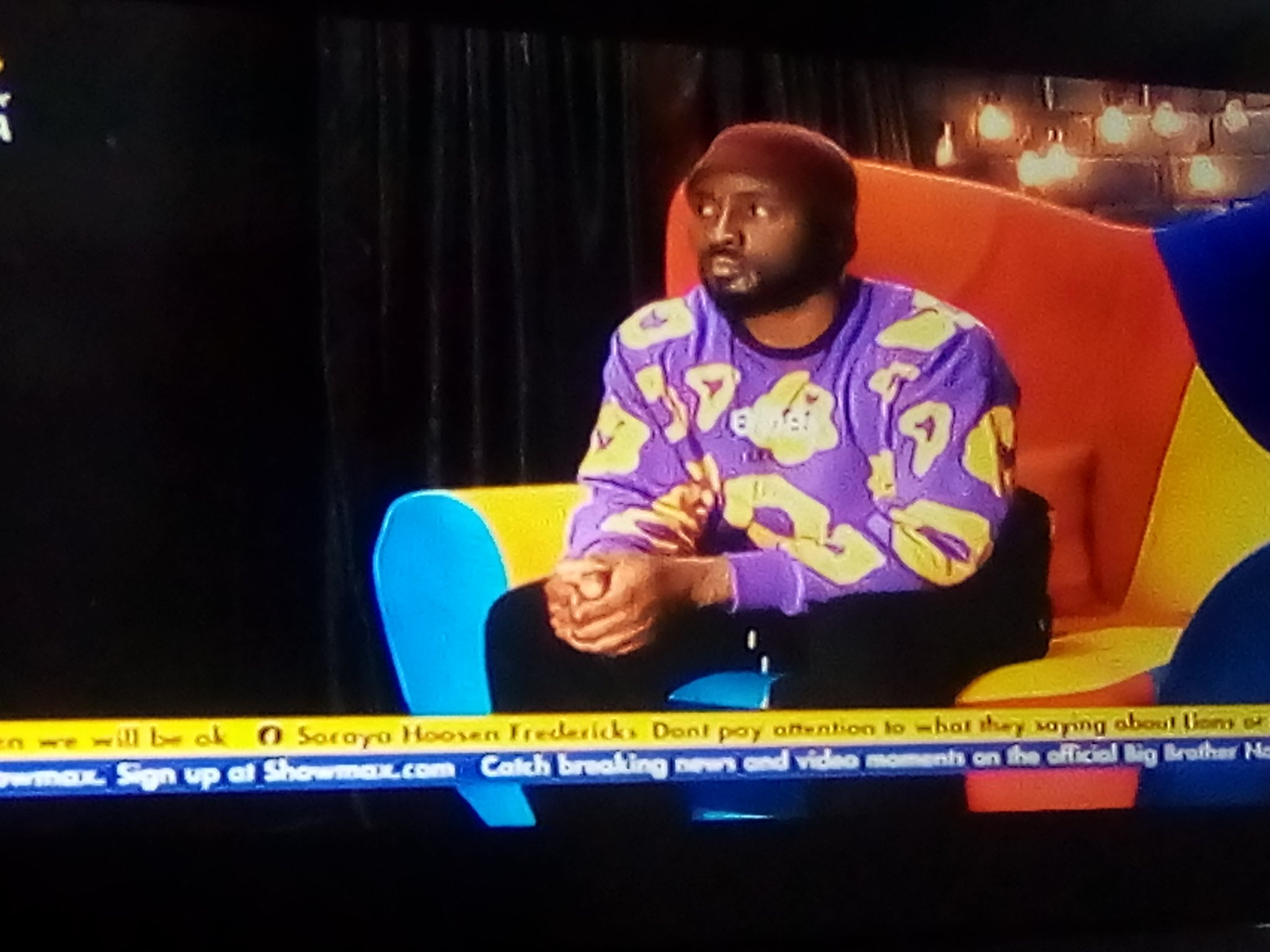 BBNaija: Pere talked to Big Brother about grand finale, read what he said