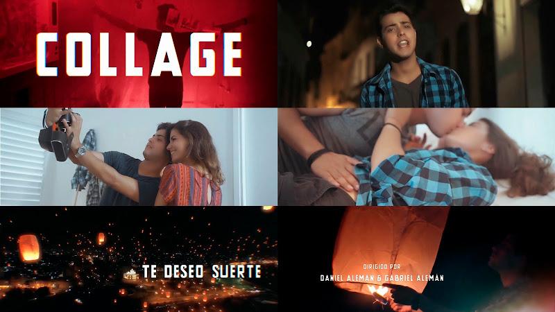Collage - ¨Te deseo suerte¨ - Videoclip - Dirección: Daniel Alemán - Gabriel Alemán. Portal Del Vídeo Clip Cubano. Música cubana. Pop. CUBA.