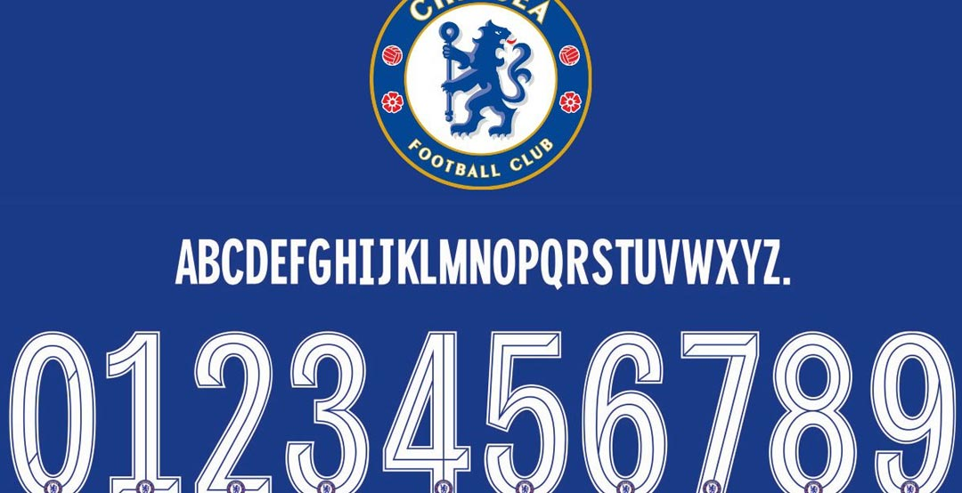 New Chelsea 19-20 Kit Cup Font Revealed - Footy Headlines