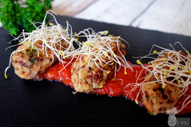 Como preparar quinoa para hacer croquetas saludables