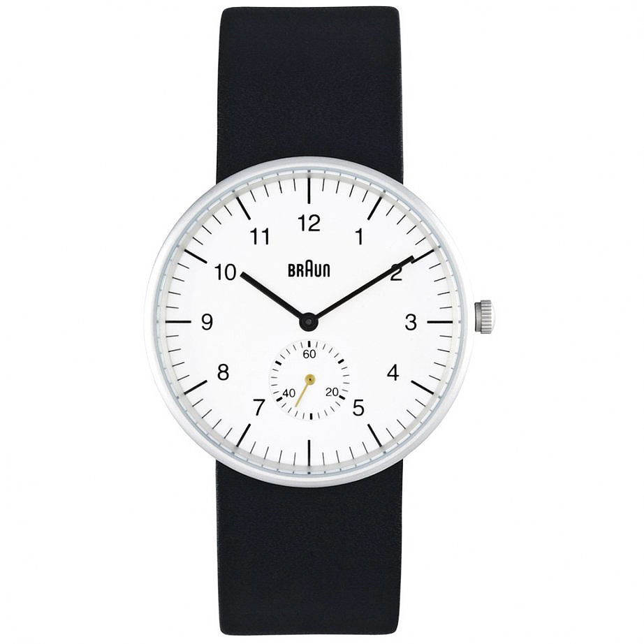 083a867ae Braun Mens Watch BN24WHBKG | modern design by moderndesign.org
