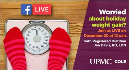 12-20 UPMC Cole Facebook Live at Noon