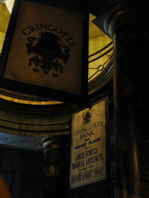 Harry Potter and The Escape from Gringotts Universal Studios