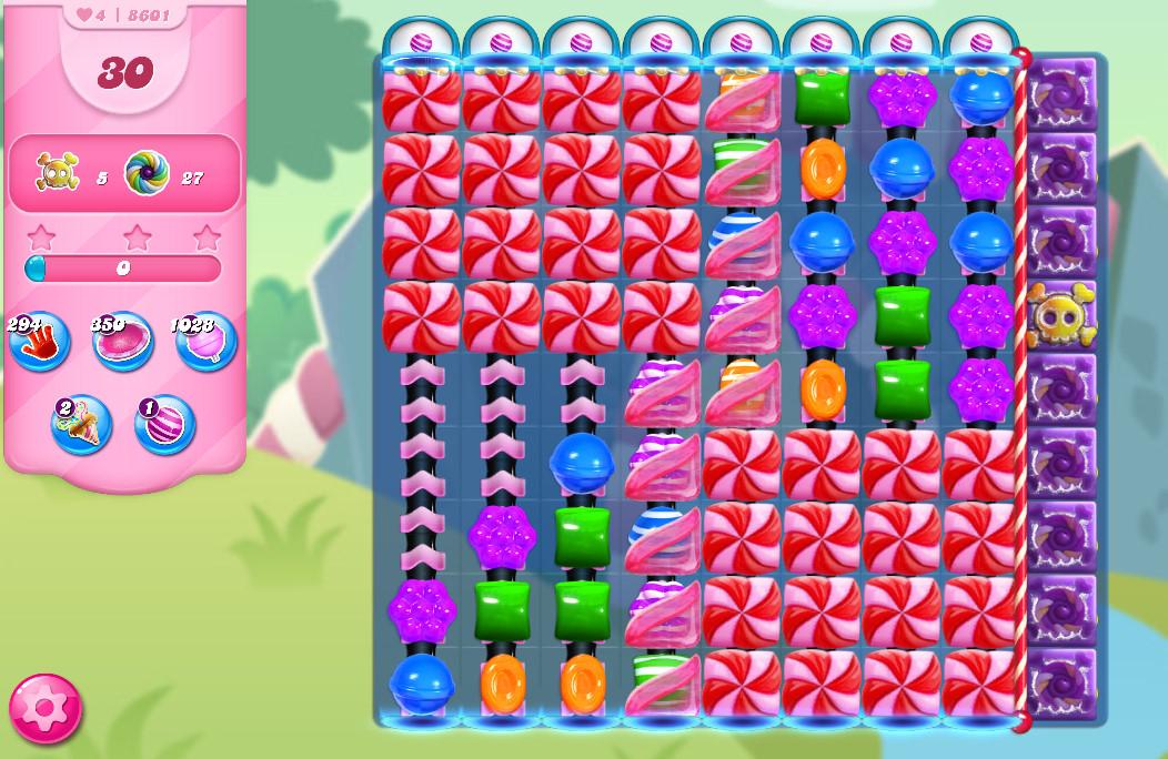 Candy Crush Saga level 8601