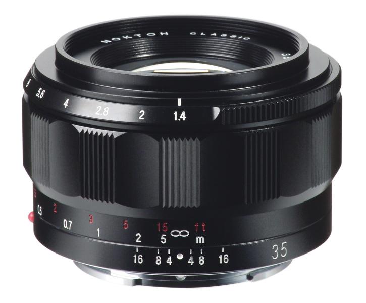 Voigtländer Nokton Classic 35mm f/1.4