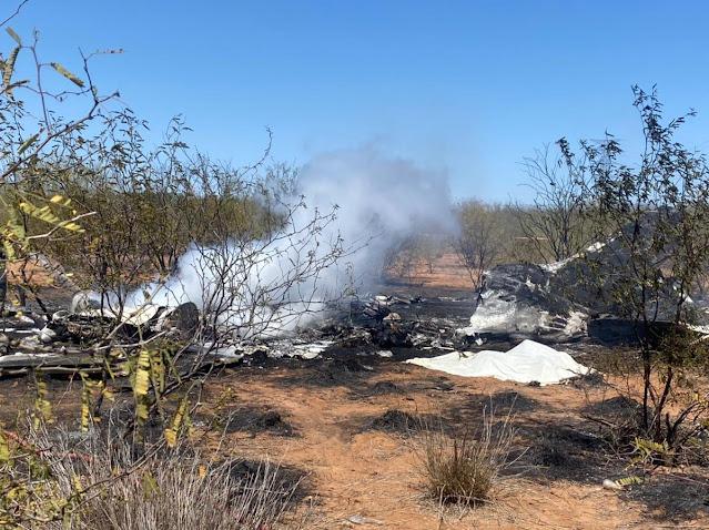 Mueren seis personas en accidente aéreo en Hermosillo, Sonora