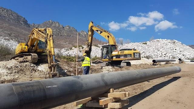 Ausschreibung für den Bau der Gaspipeline Negotino-Gevgelija im Jahr 2021