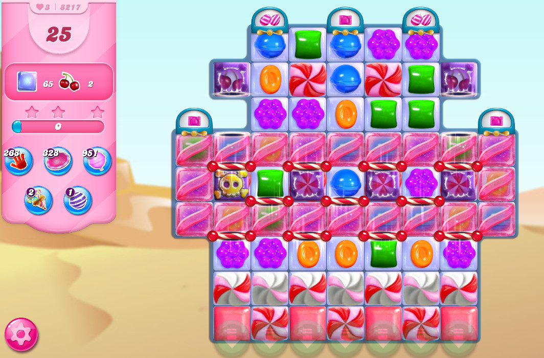 Candy Crush Saga level 8217