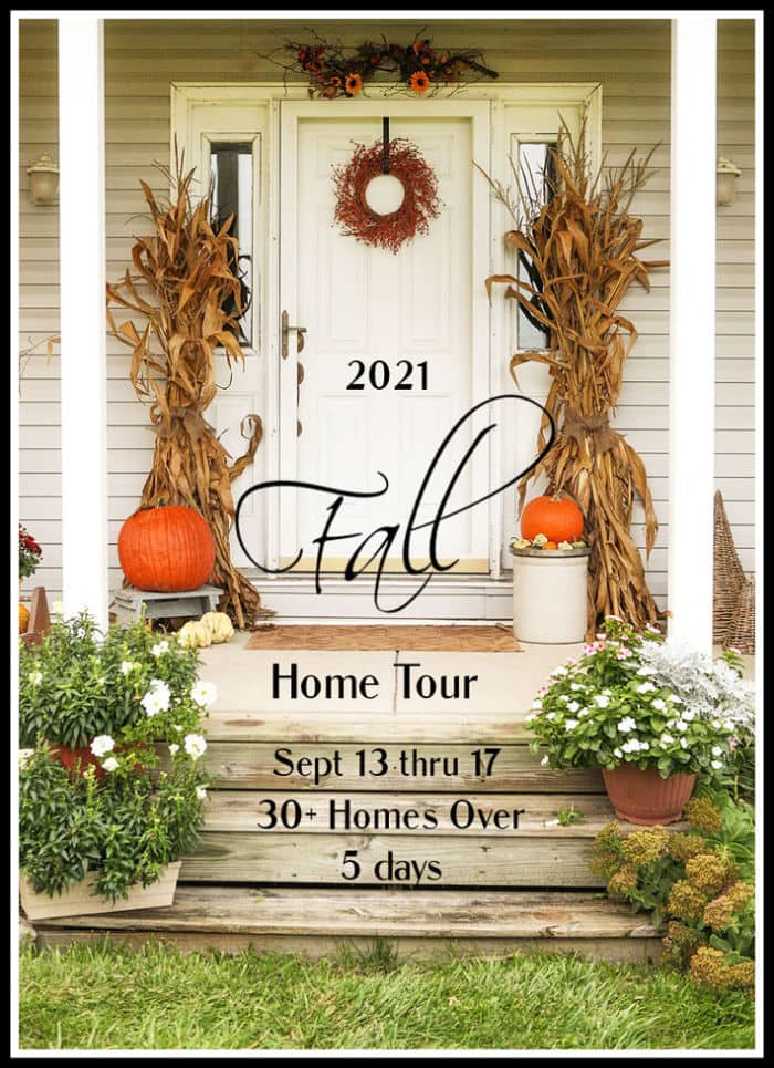 2021 Fall home tour graphic