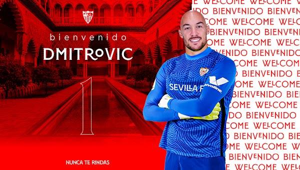 Oficial: El Sevilla firma a Dmitrovic por cuatro años