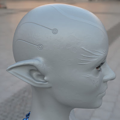 Zellarian head bump painted