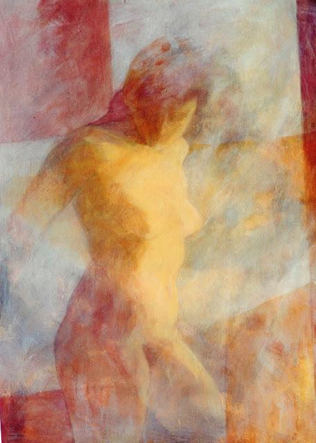 Torso XII -  Painting -Rosemary Marchetta