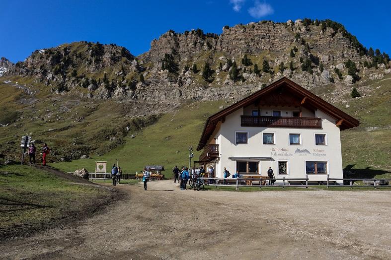 Rifugio Molignon sull'Alpe di Siusi