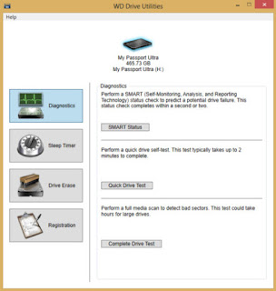 WD Drive Utilities Portable