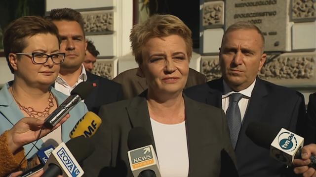 Pęknięcie w KO? Prezydent Łodzi z Platformy Obywatelskiej poparła kandydata Lewicy
