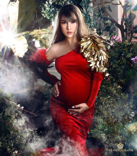 Foto%2BHamil%2BIrish%2BBella Iris Bella Hamil, Maternity Photoshootnya Bikin Kagum Lho!