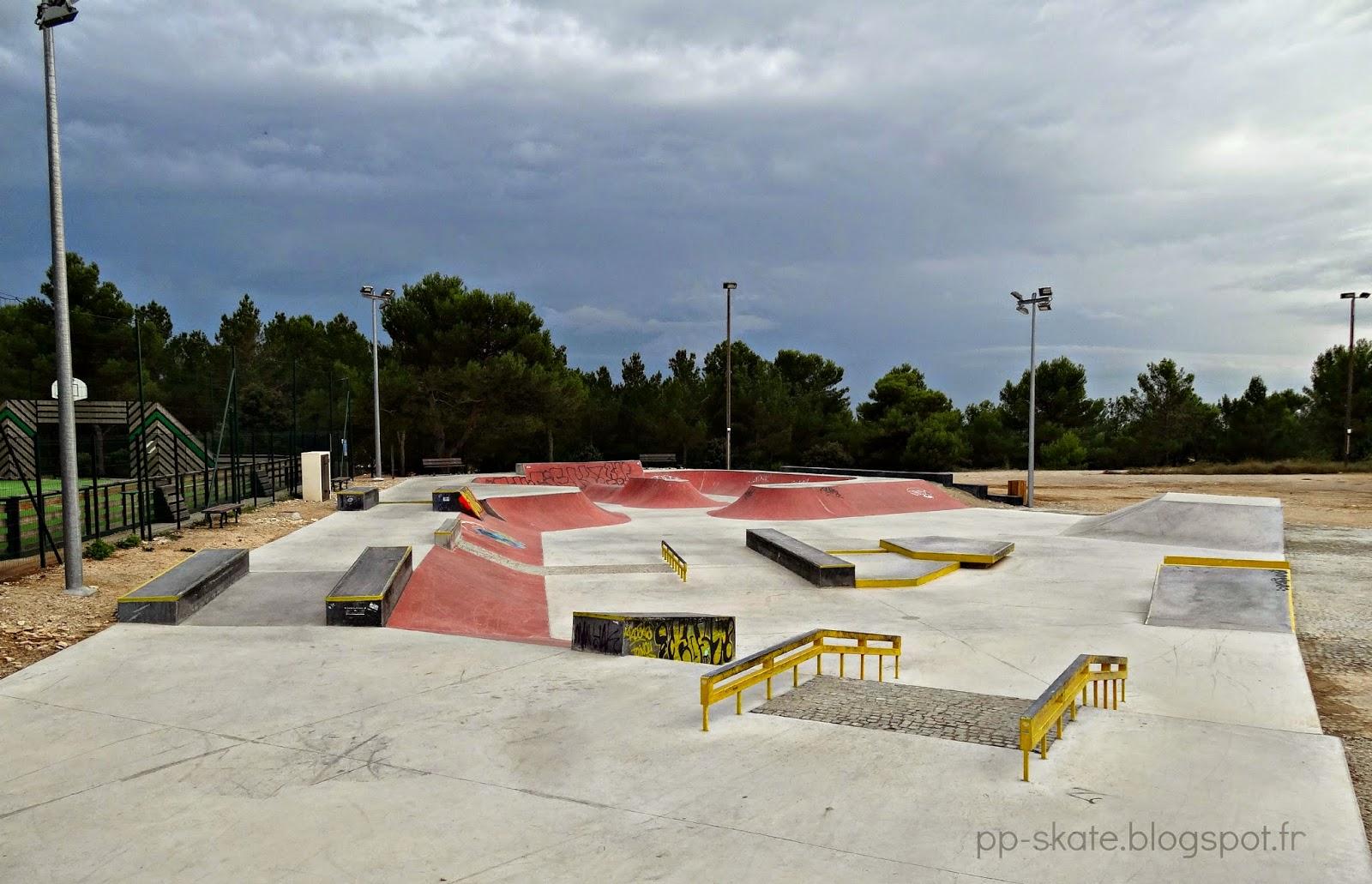 Skate park venelles