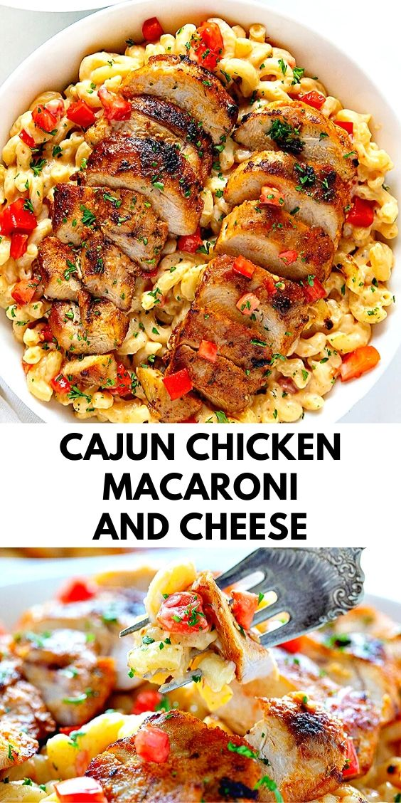 Cajun Chicken Macaroni and Cheese